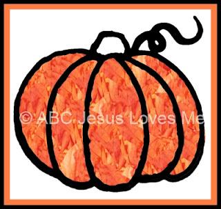 fingerpaint pumpkin craft