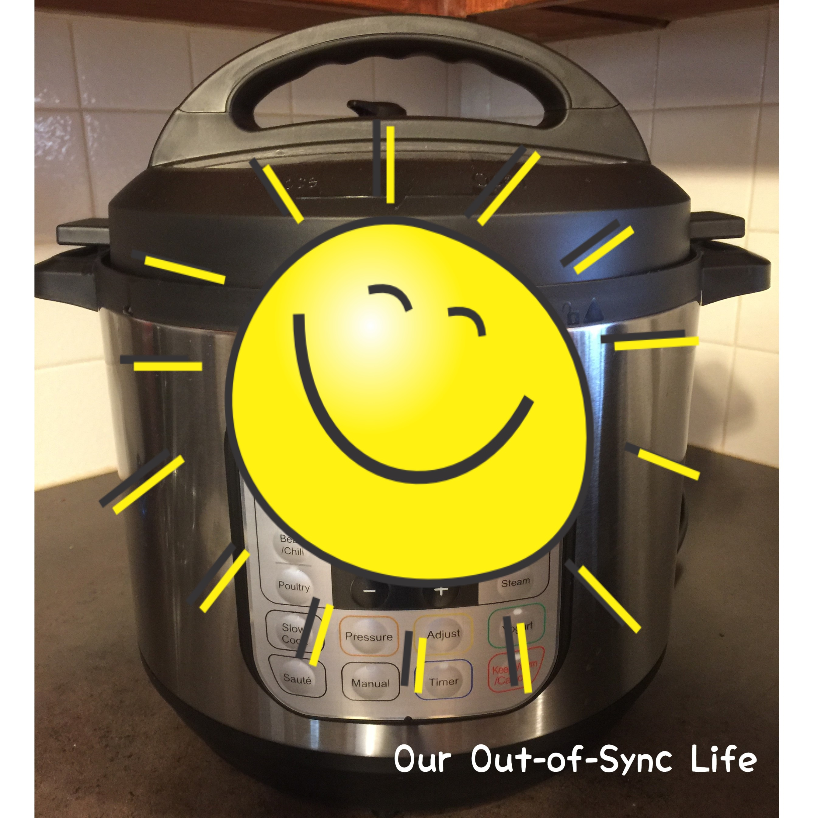 Instant Pot - Smiley Face