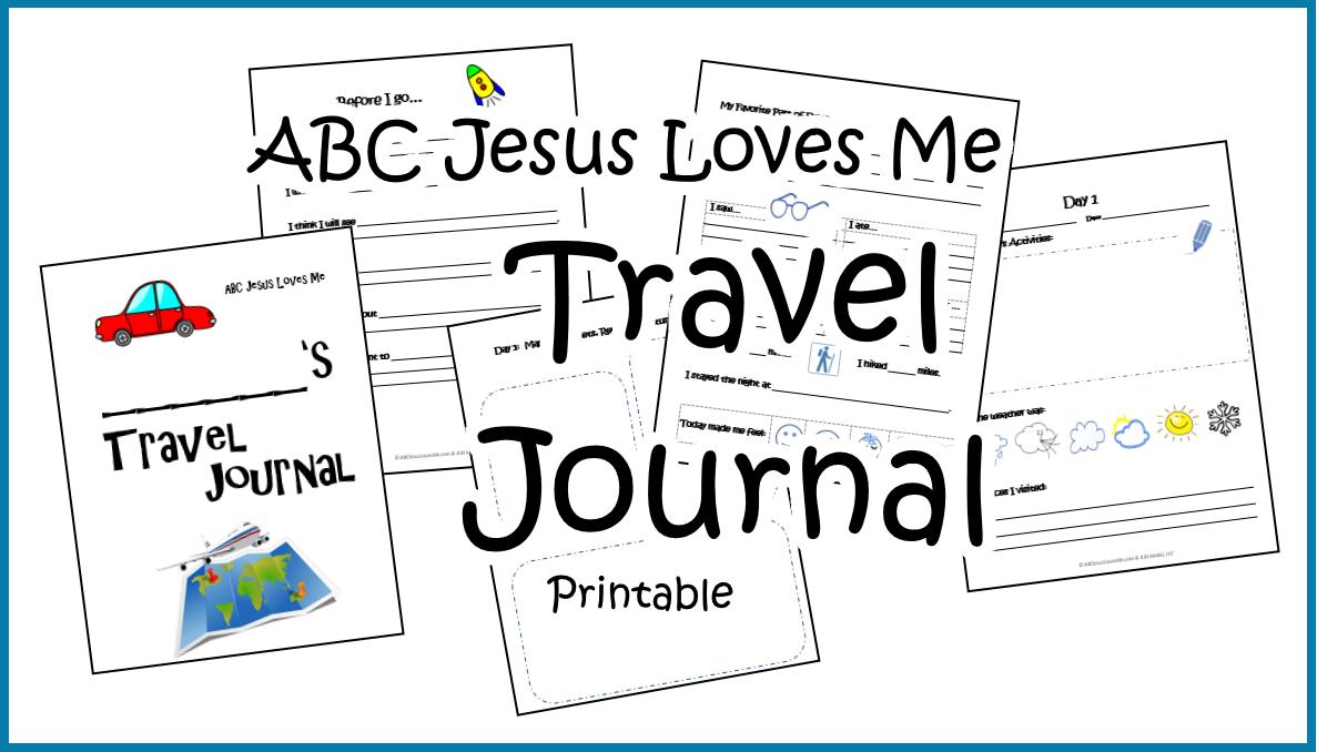 ABCJesusLovesMe Travel Journal