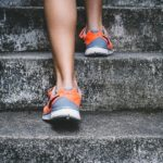 running steps