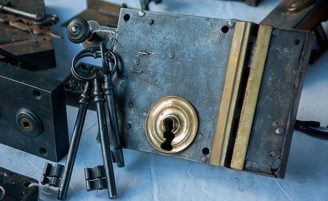 lock requiring a key