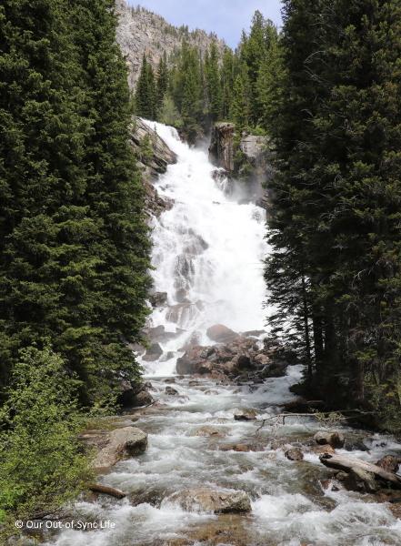 Hidden Falls at Grand Tetons