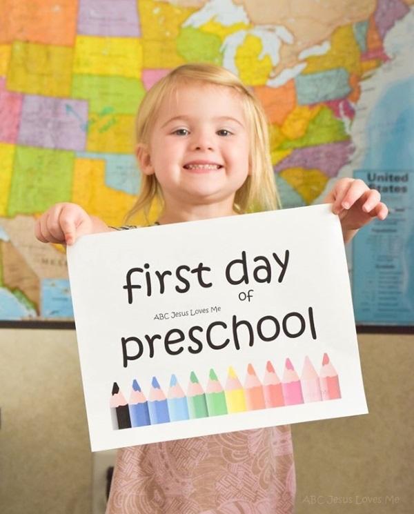 First Day of ABCJesusLovesMe Preschool