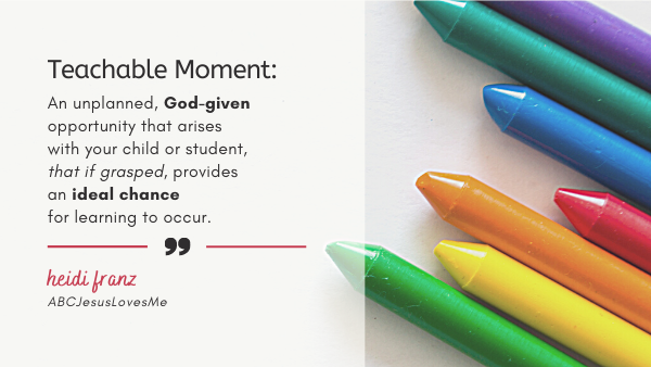 teachable moment definition