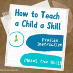 How to Teach a Skill Printable