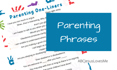 Parenting One-Liners