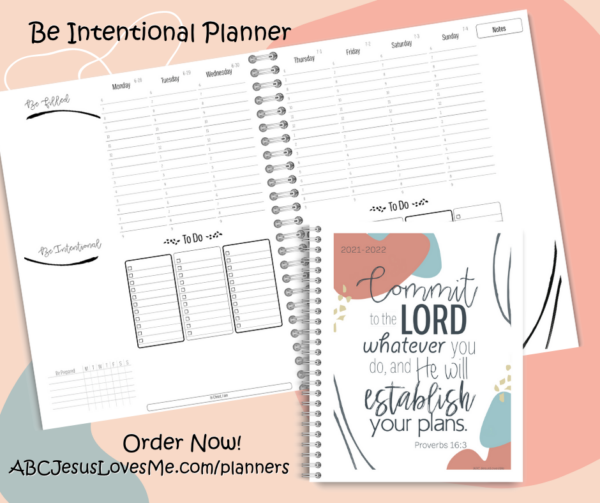 Be Intentional Planner