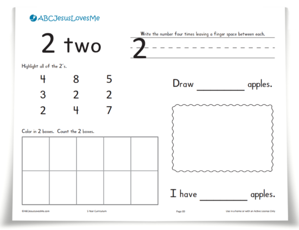 ABCJesusLovesMe Handwriting Workbook