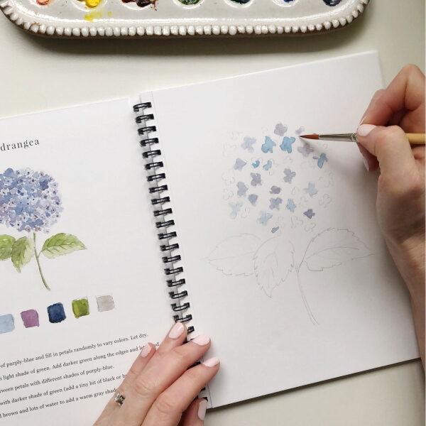 Emily Lex Watercolor Flowers