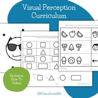 ABCJesusLovesMe Visual Perception Curriculum