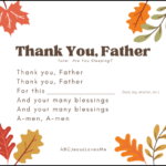 Thank You Father Song