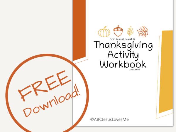 Thanksgiving Activity Workbook